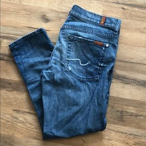 """7 For All Mankind """"Roxanne"""" size 29"""